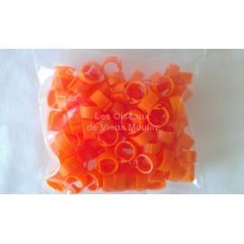 Bagues 8 mm plastique