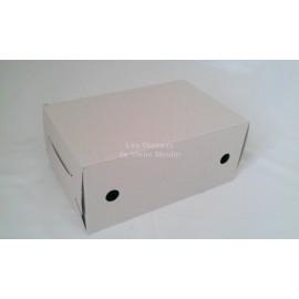 Boîte en carton (grandes perruches)