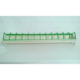 Mangeoire pour volière transparente - 47 cm