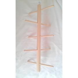 Perchoir en bois 15 x 20 cm