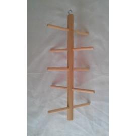 Perchoir en bois 30 x 60 cm