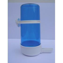 Abreuvoir 200 ml blanc/bleu (pour barreaux horizontaux)