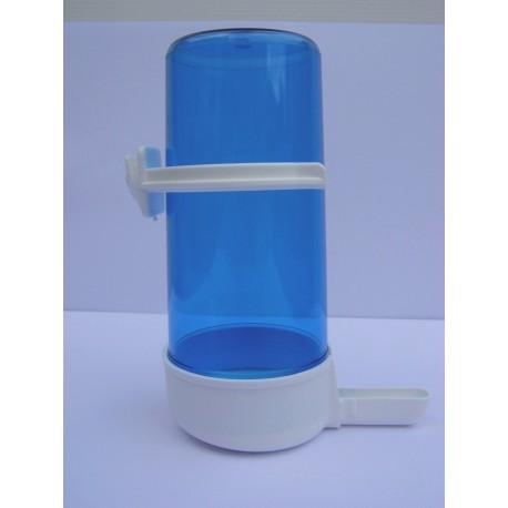 Abreuvoir 70 ml blanc/bleu à bille