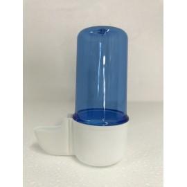 Abreuvoir 60 ml blanc/bleu